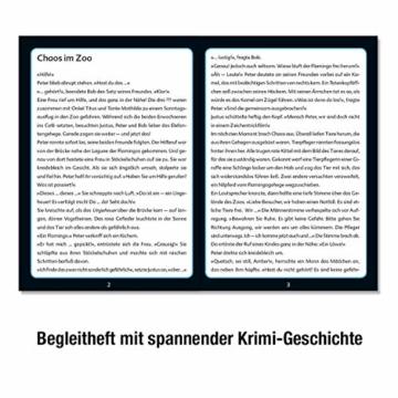 KOSMOS 697990 - Krimi Puzzle: Die ??? Kids - Chaos im Zoo, Leuchtet im Dunkeln. 150 Teile, Lesen - Puzzeln - Rätsel lösen, für Kinder ab 7 Jahre - 4