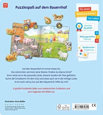 Mein großes Puzzle-Spielbuch Bauernhof - 3