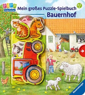 Mein großes Puzzle-Spielbuch Bauernhof - 5