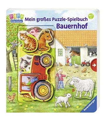 Mein großes Puzzle-Spielbuch Bauernhof - 6