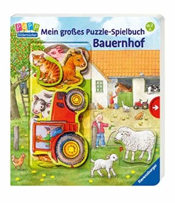 Mein großes Puzzle-Spielbuch Bauernhof - 7