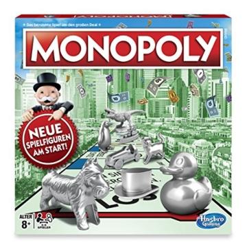 Monopoly Classic, Gesellschaftsspiel für Erwachsene & Kinder, Familienspiel, der Klassiker der Brettspiele, Gemeinschaftsspiel für 2 - 6 Personen, ab 8 Jahren - 2