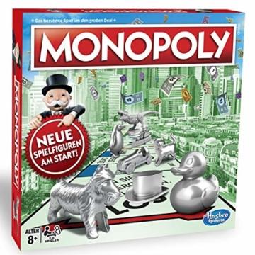 Monopoly Classic, Gesellschaftsspiel für Erwachsene & Kinder, Familienspiel, der Klassiker der Brettspiele, Gemeinschaftsspiel für 2 - 6 Personen, ab 8 Jahren - 6