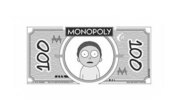 Monopoly - Rick and Morty - Deutsch - 6 Sammler Spielfiguren | Gesellschaftsspiel | Brettspiel - 4