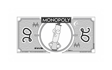 Monopoly - Rick and Morty - Deutsch - 6 Sammler Spielfiguren | Gesellschaftsspiel | Brettspiel - 5
