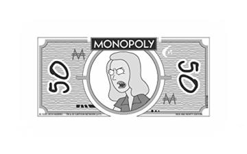Monopoly - Rick and Morty - Deutsch - 6 Sammler Spielfiguren | Gesellschaftsspiel | Brettspiel - 8