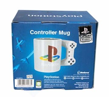 Playstation Tasse in Form PS4-Controller, Dual Shock-Kaffee- / Teetasse, Retro-Gaming-Trinktasse, Keramik-Sammlerstück, offizielles Lizenzprodukt, Standard-UK-Größe, 300 ml - 7