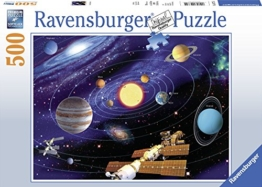 Ravensburger 14775 Solar-Puzzle mit 500 Teilen - 1