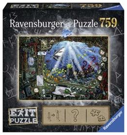Ravensburger 19953 Im U-Boot 759 Teile Exit Puzzle - 1
