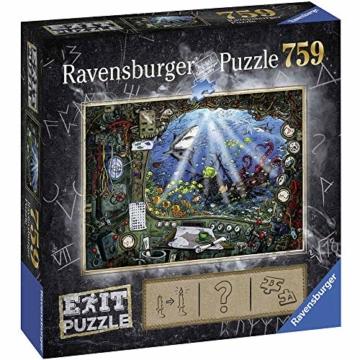 Ravensburger 19953 Im U-Boot 759 Teile Exit Puzzle - 2