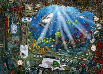 Ravensburger 19953 Im U-Boot 759 Teile Exit Puzzle - 4