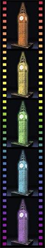 Ravensburger 3D Puzzle Big Ben bei Nacht mit 216 Teilen, für Kinder und Erwachsene, Wahrzeichen von London im Miniatur-Format, Leuchtet im Dunkeln - 7