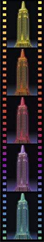 Ravensburger 3D Puzzle Empire State Building bei Nacht, für Kinder und Erwachsene, Wahrzeichen von New York im Miniatur-Format, Leuchtet im Dunkeln - 7
