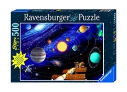 Ravensburger - 500 Teile Star Line fluoreszierend - Das Sonnensystem - 1