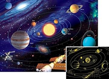 Ravensburger - 500 Teile Star Line fluoreszierend - Das Sonnensystem - 2