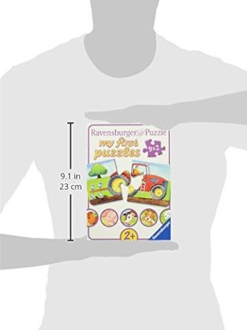 Ravensburger Kinderpuzzle 07333 - Auf dem Bauernhof - my first puzzles - 2,4,6,8 Teile - 11