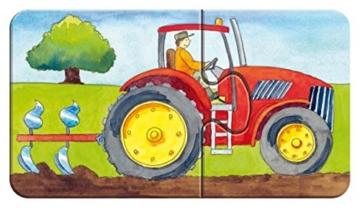 Ravensburger Kinderpuzzle 07333 - Auf dem Bauernhof - my first puzzles - 2,4,6,8 Teile - 7