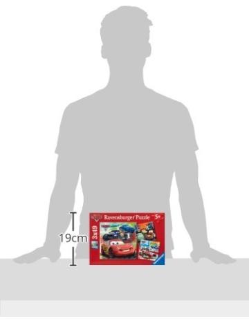 Ravensburger Kinderpuzzle 09281 - Weltweiter Rennspaß - 3 x 49 Teile - 5