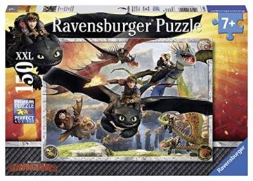 Ravensburger Kinderpuzzle 10015 - Drachenzähmen leicht gemacht - 150 Teile - 1