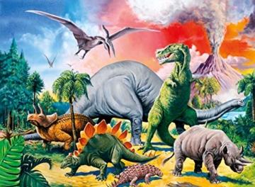 Ravensburger Kinderpuzzle 10957 - Unter Dinosauriern - 100 Teile - 3