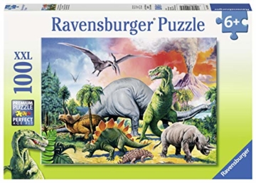Ravensburger Kinderpuzzle 10957 - Unter Dinosauriern - 100 Teile - 4