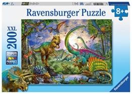 Ravensburger Kinderpuzzle 12718 - Im Reich der Giganten - 200 Teile - 1