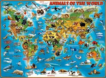 Ravensburger Kinderpuzzle 13257 - Tiere rund um die Welt - 300 Teile - 2