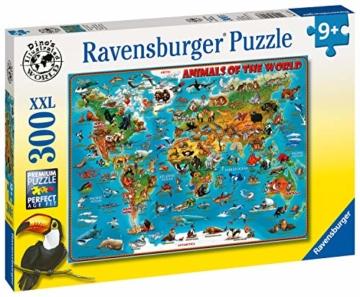 Ravensburger Kinderpuzzle 13257 - Tiere rund um die Welt - 300 Teile - 4
