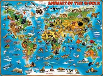 Ravensburger Kinderpuzzle 13257 - Tiere rund um die Welt - 300 Teile - 5