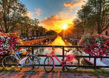 Ravensburger Puzzle 1000 Teile Fahrräder in Amsterdam - Farbenfrohes Puzzle für Erwachsene und Kinder in bewährter Ravensburger Qualität - 7