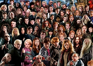 Ravensburger Puzzle 1000 Teile Harry Potter - Über 70 Charaktere aus der zauberhaften Welt von Hogwarts auf einem Puzzle für Erwachsene und Kinder ab 14 Jahren - 7