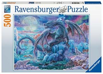 Ravensburger Puzzle 14839 - Eisdrache - 500 Teile - 1