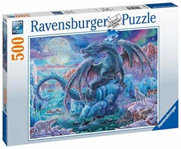 Ravensburger Puzzle 14839 - Eisdrache - 500 Teile - 5