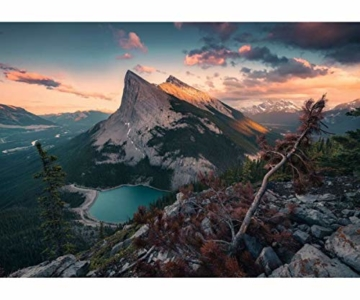 Ravensburger Puzzle 15011 - Abends in den Rocky Mountains - 1000 Teile - 2