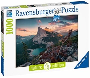 Ravensburger Puzzle 15011 - Abends in den Rocky Mountains - 1000 Teile - 3
