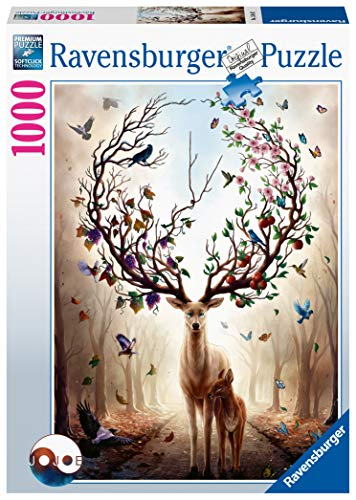 Ravensburger Puzzle 15018 - Magischer Hirsch - 1000 Teile - 1