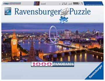 Ravensburger Puzzle 15064 - London bei Nacht  - 1000 Teile - 4