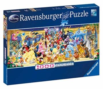 Ravensburger Puzzle 15109 - Disney Gruppenfoto - 1000 Teile - 1