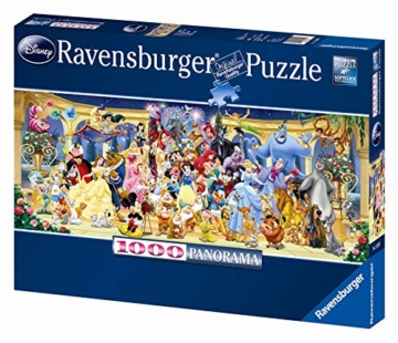 Ravensburger Puzzle 15109 - Disney Gruppenfoto - 1000 Teile - 3