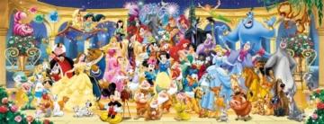 Ravensburger Puzzle 15109 - Disney Gruppenfoto - 1000 Teile - 5
