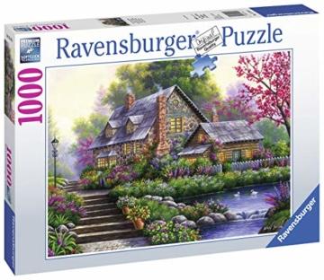 Ravensburger Puzzle 15184 - Romantisches Cottage - 1000 Teile - 7