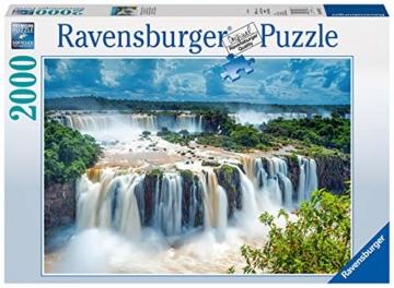 Ravensburger Puzzle 16607 - Wasserfälle von Iguazu, Brasilien - 2000 Teile - 1