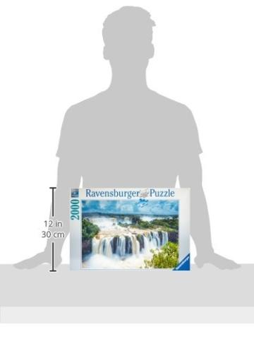 Ravensburger Puzzle 16607 - Wasserfälle von Iguazu, Brasilien - 2000 Teile - 3