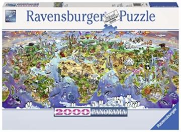 Ravensburger Puzzle 16698 - Wunder der Welt - 2000 Teile - 1