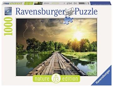 Ravensburger Puzzle 19538 - Mystisches Licht - 1000 Teile - 1