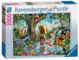 Ravensburger Puzzle 19837 - Abenteuer im Dschungel - 1000 Teile - 1