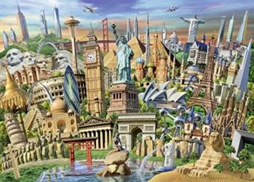 Ravensburger Puzzle 19890 - Sehenswürdigkeiten weltweit - 1000 Teile - 5