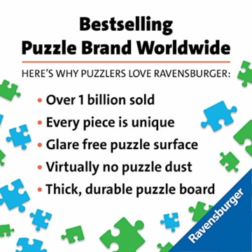 Ravensburger Puzzle 19890 - Sehenswürdigkeiten weltweit - 1000 Teile - 6