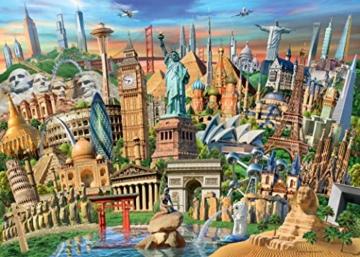 Ravensburger Puzzle 19890 - Sehenswürdigkeiten weltweit - 1000 Teile - 7