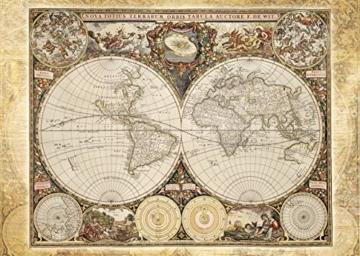 Schmidt Spiele 58178 - Historiche Weltkarte, 2000 Teile Puzzle - 2